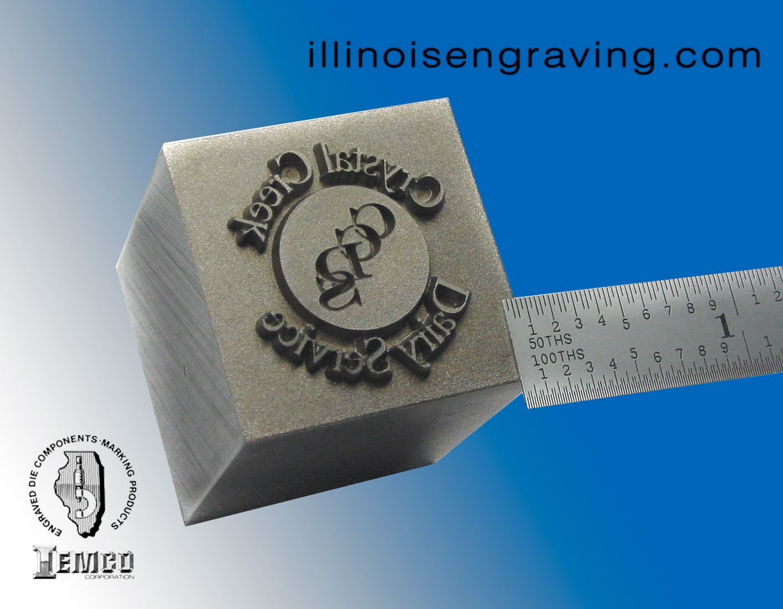 Customized Steel Stamps Custom Marking Dies Illinois